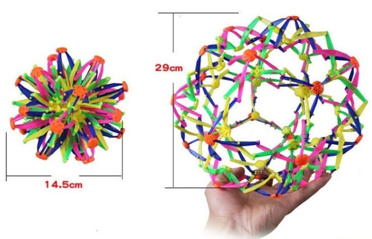expanding_sphere_hoberman_mini_ball_kids_toy_