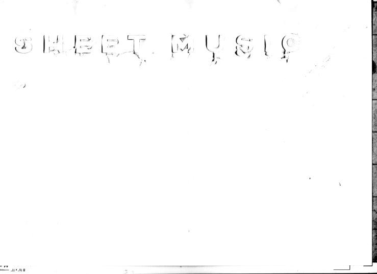 sheet music 1 1
