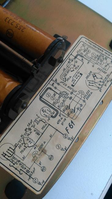 vintage schematic
